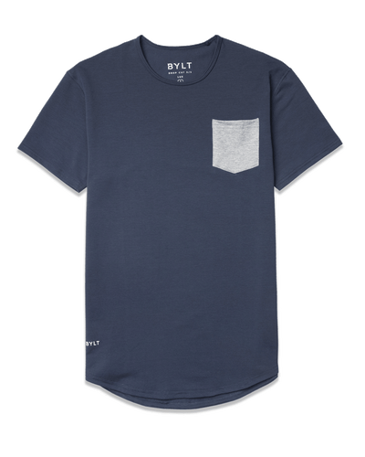 Drop-Cut: LUX Pocket <!-- Size XXL --> Midnight Grey