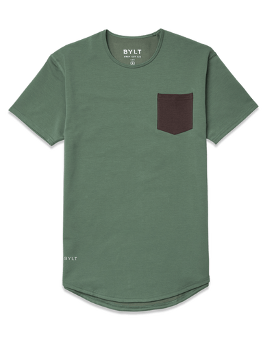 Drop-Cut: LUX Pocket <!-- Size XXL --> Pine/Chocolate