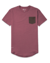 Drop-Cut: LUX Pocket <!-- Size XXL --> Chocolate/Wine