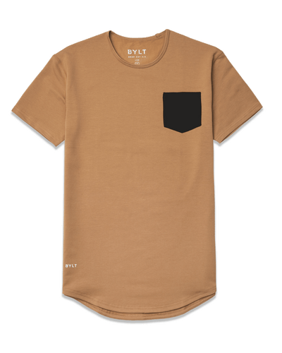 Drop-Cut: LUX Pocket <!-- Size XXL --> Toast/Black