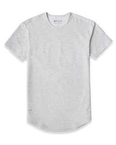 Light Heather Grey - Drop-Cut Shirt