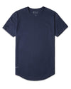 Drop-Cut: LUX Navy - Drop-Cut Shirt