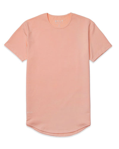 Drop-Cut Shirt Pink Ice - Drop-Cut Shirt