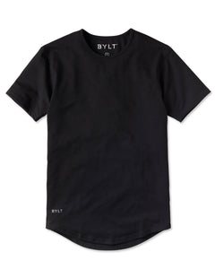 Black - Drop-Cut Shirt