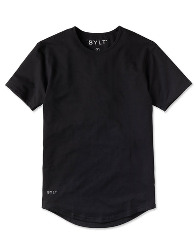 Drop-Cut Shirt Black - Drop-Cut Shirt