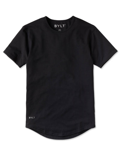 Drop-Cut Shirt - 2019 Style - (FINAL SALE) Black