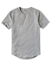 Drop-Cut Shirt - 2019 Style - (FINAL SALE) Heather Grey