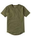 Drop-Cut Shirt - 2019 Style - (FINAL SALE) Military Green
