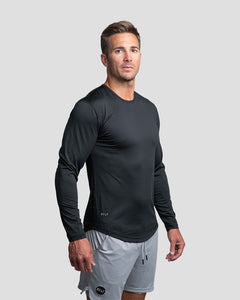 Black - Performance Long Sleeve Shirt