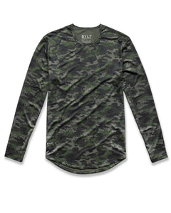 Forest-Camo - Performance Long Sleeve Shirt
