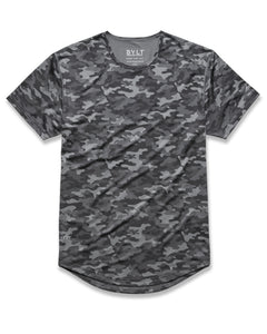 Asphalt-Camo - Performance Drop-Cut Shirt