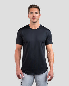 Black - Performance Drop-Cut Shirt