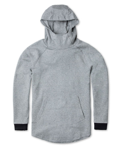 Men's Premium Drop-Cut Pullover (FINAL SALE) Heather Grey