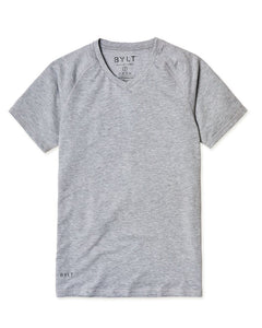 Heather Grey - Premium V-Neck