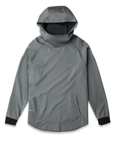 Gunmetal - Elite+ Drop-Cut Pullover