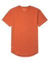 Drop-Cut Shirt <!-- Size M --> Burnt Orange - Drop-Cut Shirt