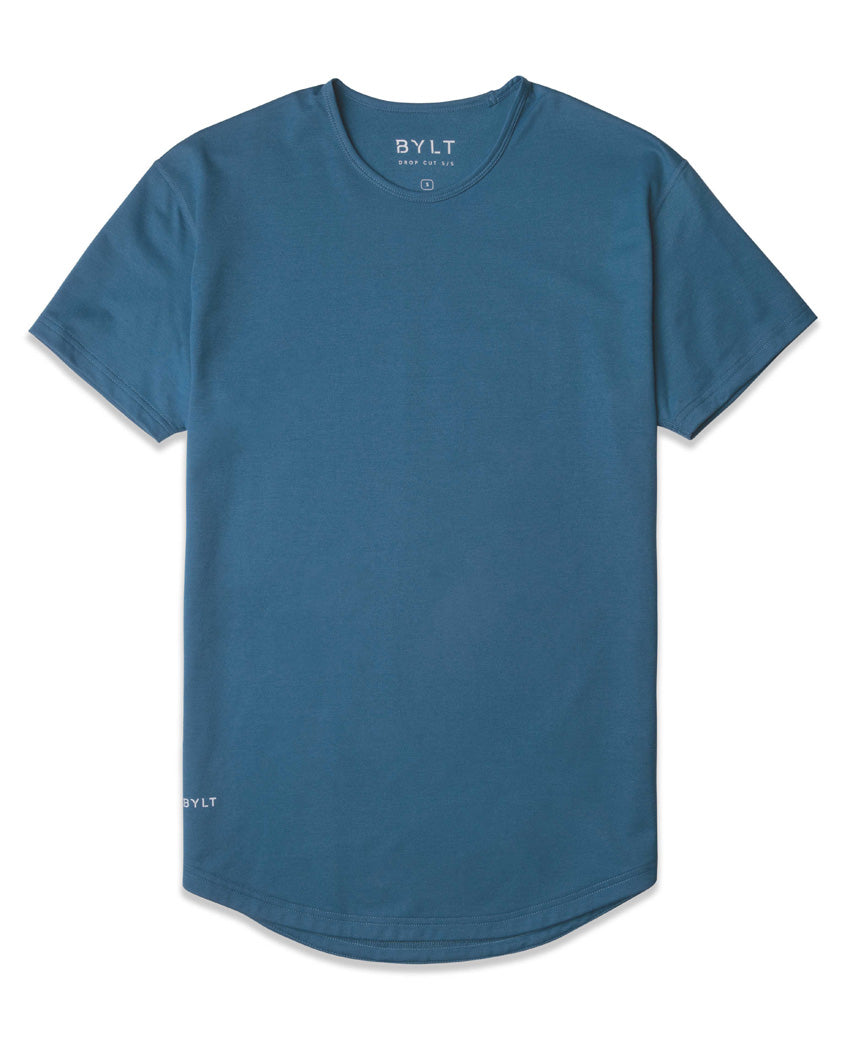 Marine Blue - Drop-Cut Shirt
