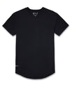 Drop-Cut Shirt <!-- Size S --> Black - Drop-Cut Shirt