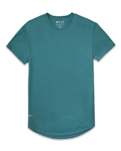 Deep Cyan - Drop-Cut Shirt