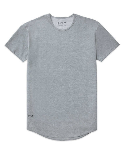 Drop-Cut Shirt Heather Grey - Drop-Cut Shirt