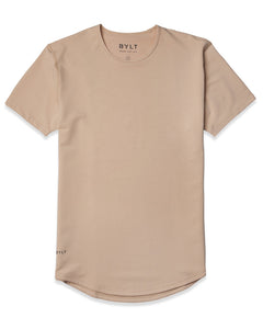 Sand - Drop-Cut Shirt