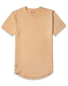 Almond - Drop-Cut Shirt