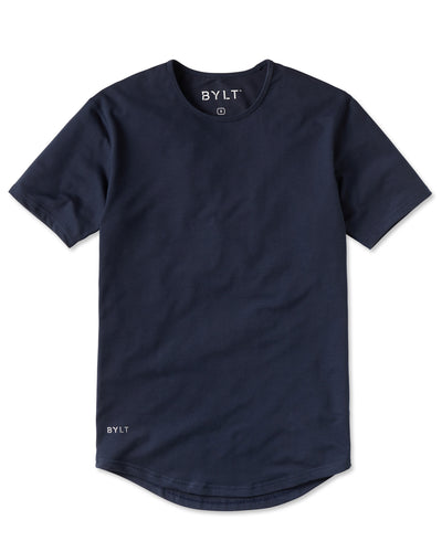 Drop-Cut Shirt Navy - Drop-Cut Shirt