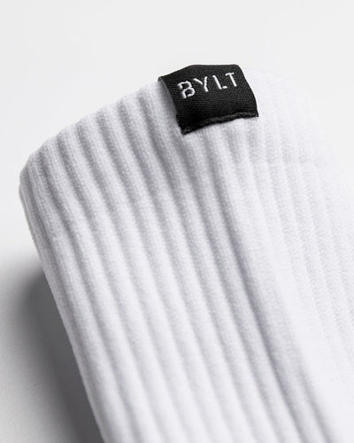 Hybrid Compression Socks White