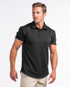 Drop Tech Polo Black