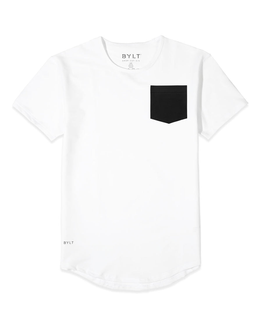 Drop-Cut: LUX Custom Pocket Tee