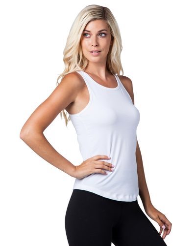 Women's Essential Tank White
