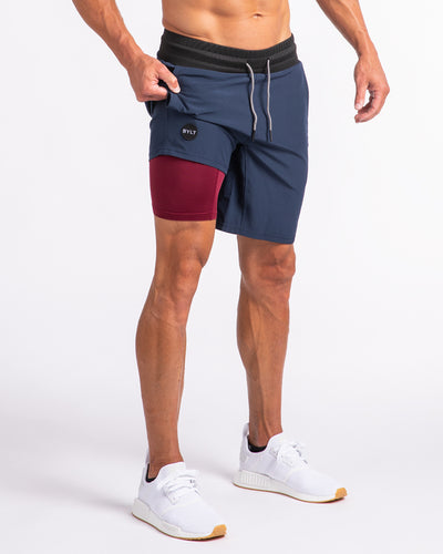 Active Shorts (FINAL SALE) Navy