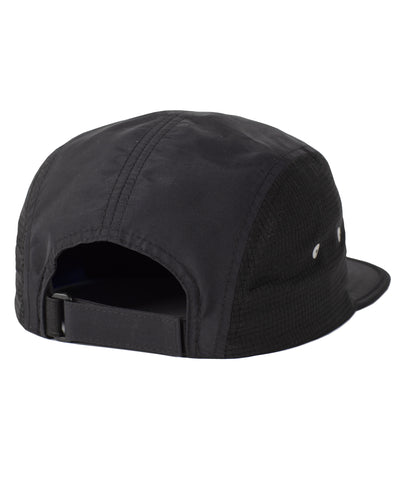 Active 5-Panel Cap Black Hat