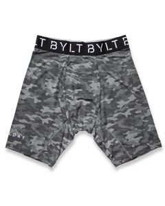 Gunmetal / Camo - All Day Brief
