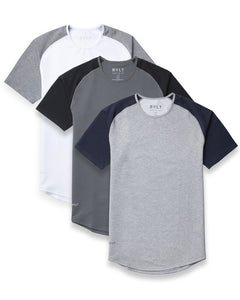 Baseball-Drop-Cut 3 Pack