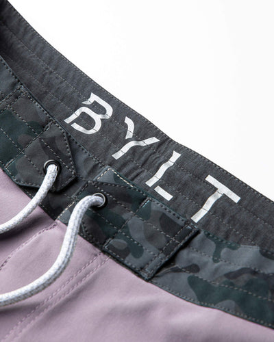 Coastal Board Shorts Gravel/Black Camo