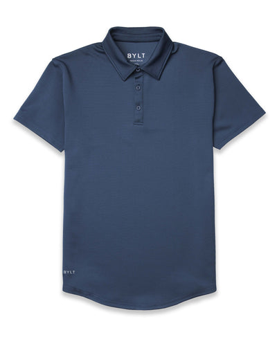 Drop Tech Polo Navy