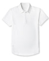 Drop Tech Polo White