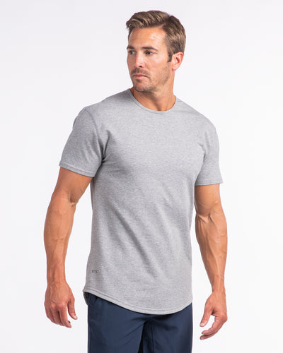 Drop-Cut: LUX Heather Grey