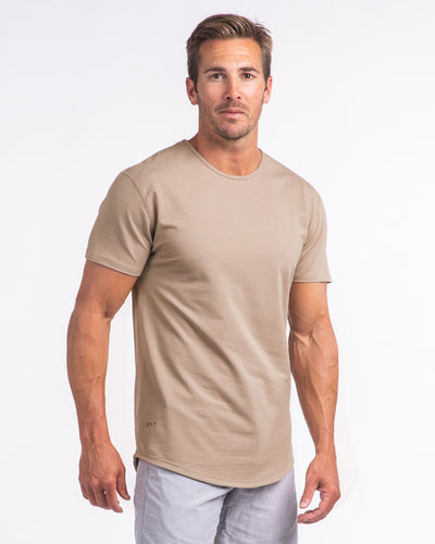 Drop-Cut Shirt (FINAL SALE) Sand