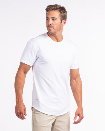 Drop-Cut: LUX <!-- Size XXL --> White