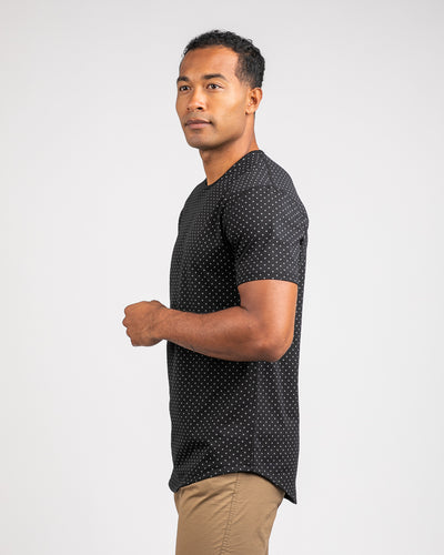Dotted Drop-Cut: LUX Black/Grey - Dotted Drop-Cut: LUX