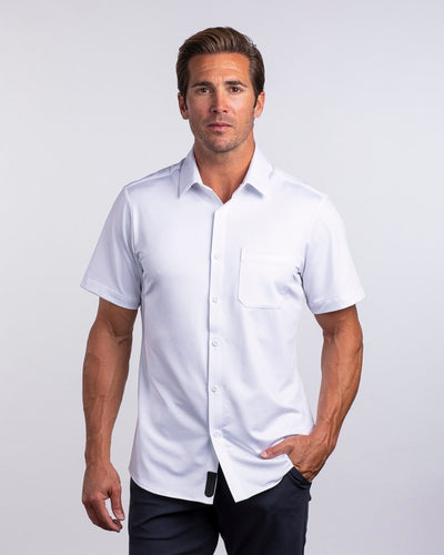 Executive Drop-Cut: Short Sleeve Executive Short Sleeve Shirt