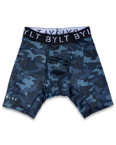 Flex Boxer Brief - (FINAL SALE) Navy Camo