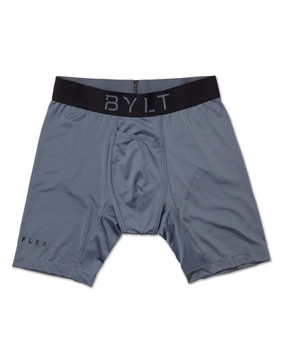 Flex Boxer Brief - (FINAL SALE) Gray