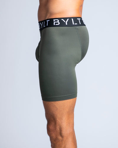 Flex Boxer Briefs Dark Olive - Flex Boxer Brief