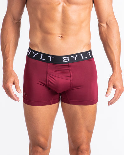 Flex Trunk - (FINAL SALE) Maroon Red