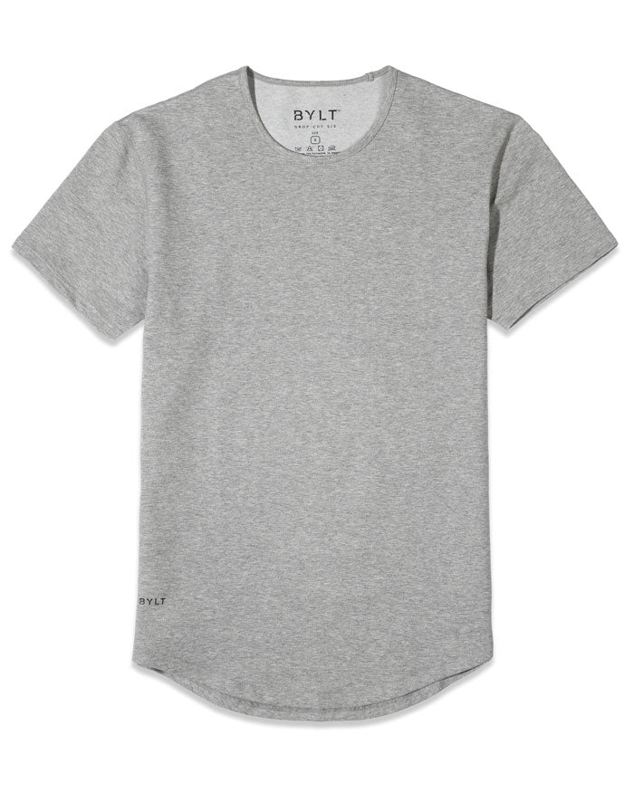 Heather Grey - Drop-Cut: LUX