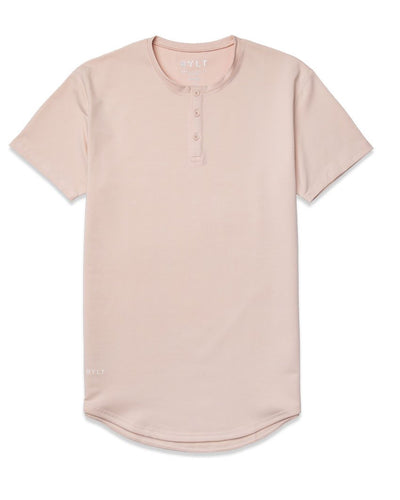 Henley Drop-Cut: LUX Satin