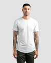 Drop-Cut: LUX <!-- Size S --> Light Heather Grey - Drop-Cut LUX